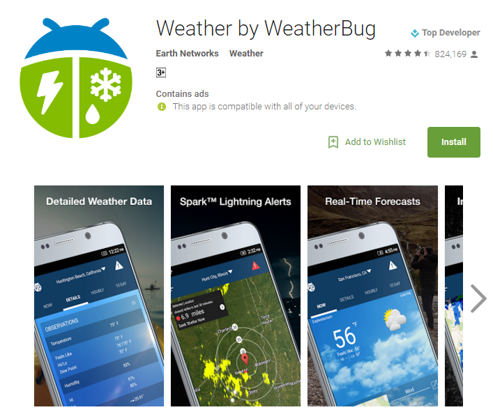 D:\Projects\Articles\Disha Rajani\Some Handy Apps to Keep Safe From Erratic Weather While You Move Around The World\WeatherBug.PNG