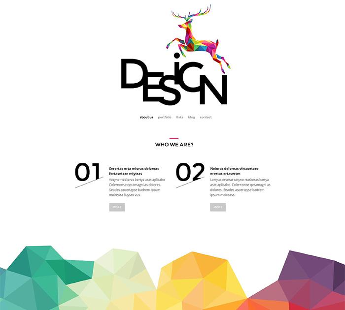 Design - Unconventional Agency WordPress Theme