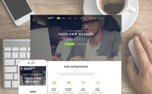Grand Vector - Perfect Multipurpose Website Template for any project
