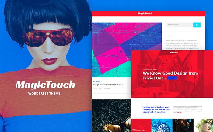 Magictouch - Amazing Responsive WordPress Web Design Studio Theme