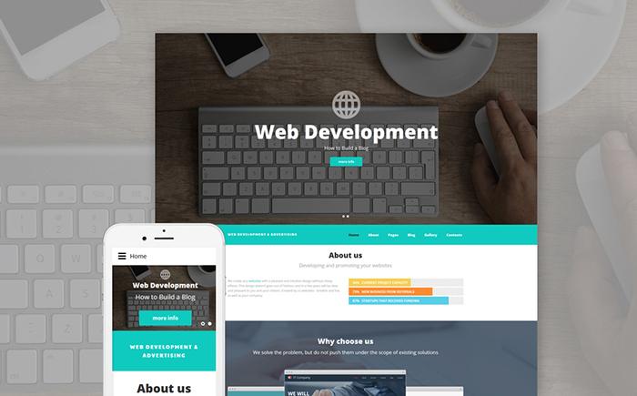 Web Development - Amazing Joomla Template for web designers