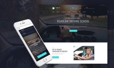 Driving School WP Theme