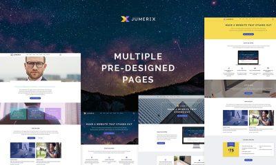 Jumerix Multipurpose Joomla Theme