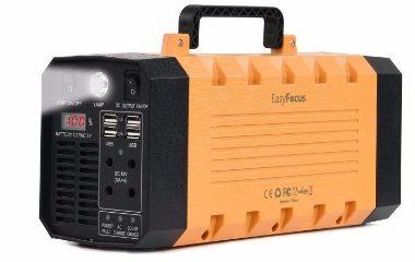 EasyFocus 288WH Portable Solar Generator, 7lb 500W