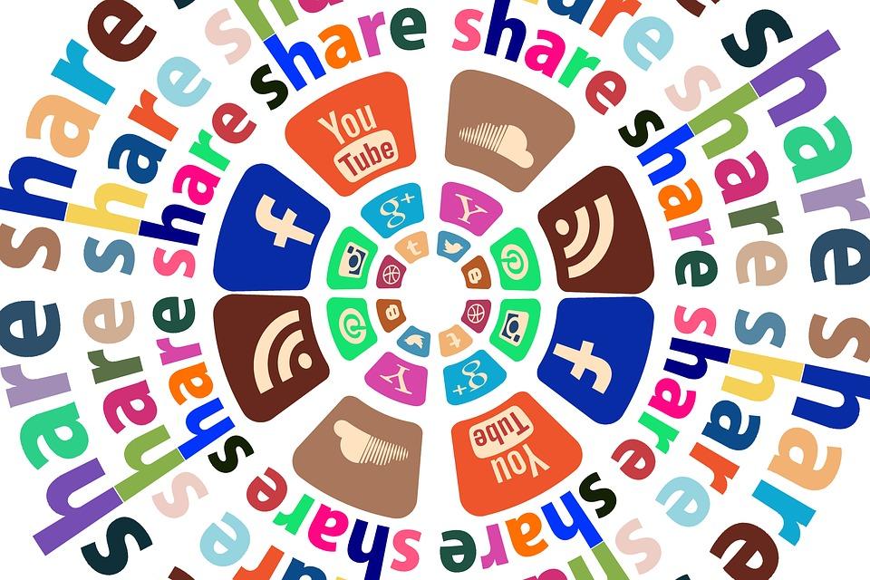 Частей, Социальные Медиа, Контакт, Web, Новости, Блог